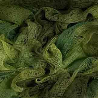 leaf green cotton scrim