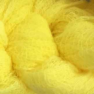 lemon yellow cotton scrim