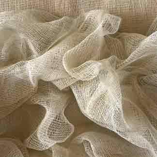 beige cotton scrim