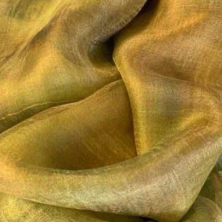 gold silk gauze