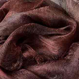 brown margilan silk