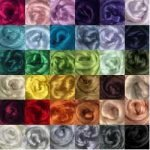 viscose roving colour range