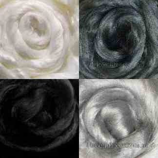 black white grey viscose fibre