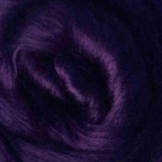 purple viscose roving