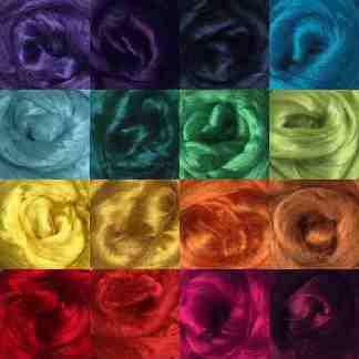viscose roving colours