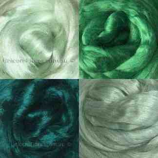 viscose fibre cool greens