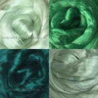 viscose fibre cool greens