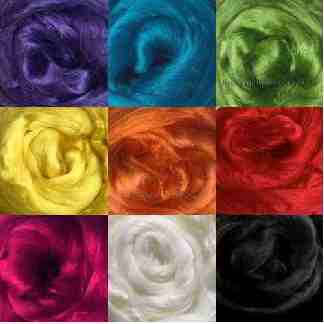 rainbow viscose roving