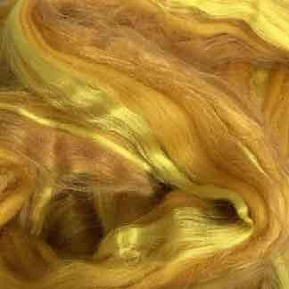 gold wool viscose roving