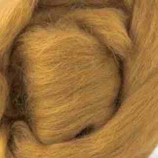 brown tan wool roving