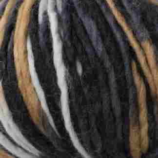pencil roving black white brown