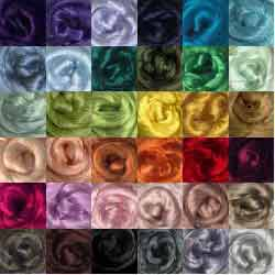 Viscose roving bundles