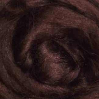 brown viscose roving for felting
