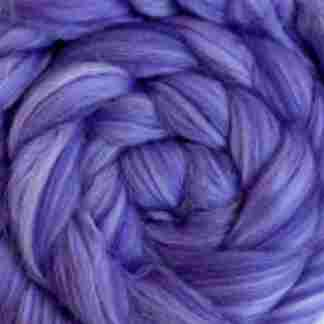 purple mauve wool roving