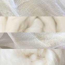 Undyed Fibre & Fabric