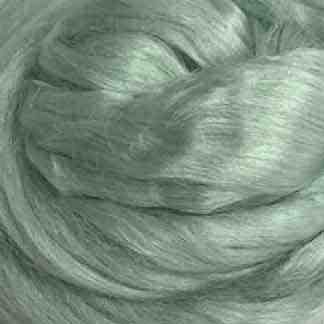 pale green viscose roving
