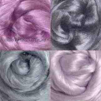 viscose pink grey