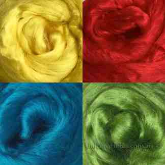 viscose roving primary colours