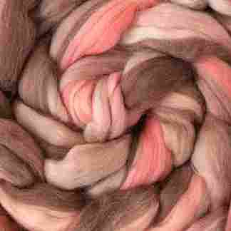 wool tops for spinning and wet felting