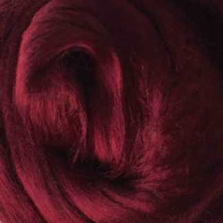 burgundy viscose roving maroon