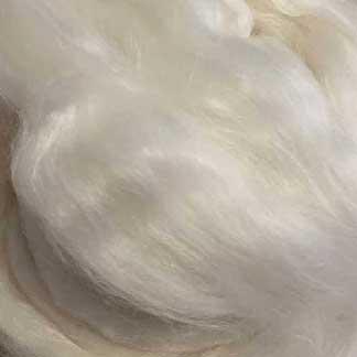 white wool viscose roving Uniblend