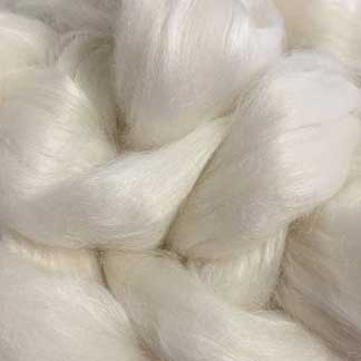 white wool viscose roving