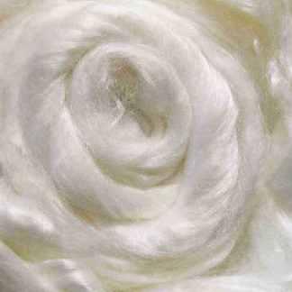 white viscose roving