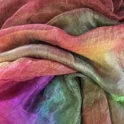 Margilan silk gauze