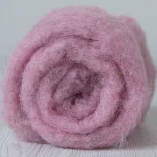 dusky pink Bergschaf batt