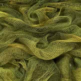 yellow green cotton scrim