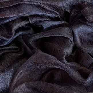 black margilan silk