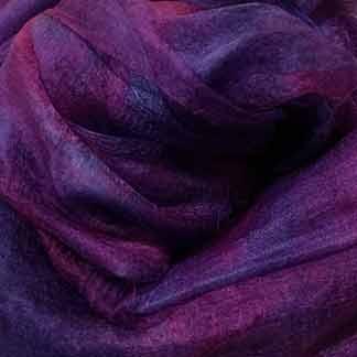 violet margilan silk